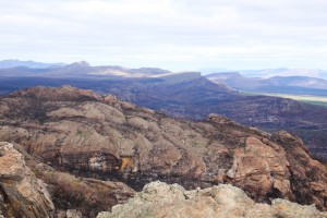 Grampians 1 Burned landscape after 2013:14 fire
